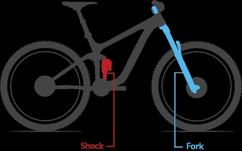 تعلیق دوچرخه