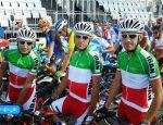 برنامه دوچرخه سواری تیم ملی در جاکارتا