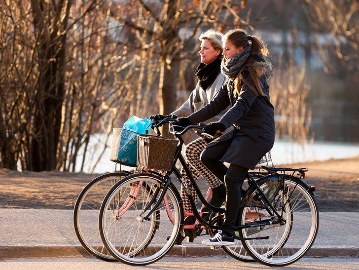 استفاده از دوچرخه